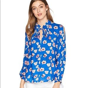 Lucky Brand Women's Umi Floral Peasant Top,
